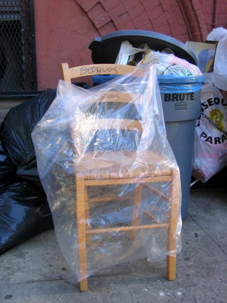 Bedbuggered Chair