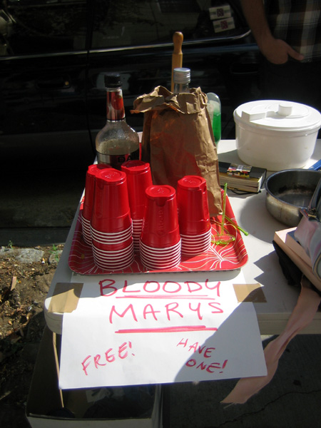 Bloody Mary Stand