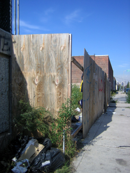 Fence, Kent and West Street