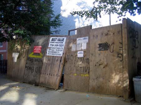 158 India Street Fence