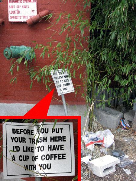 Before you dump