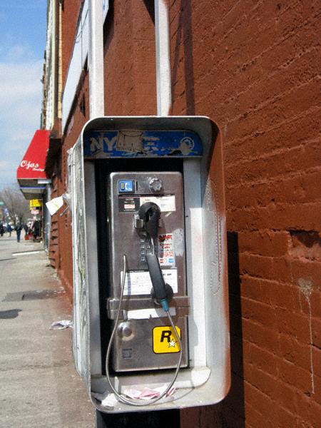 Graham Avenue Pay Phone
