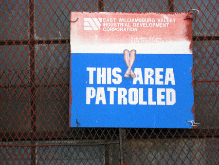 This area patrolled