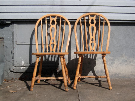 New York Shitty Day Ender: A Revue Of Greenpoint Street Furniture