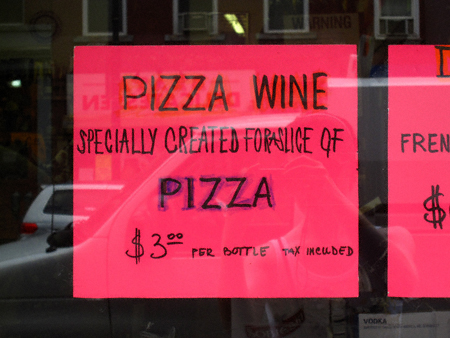 pizzawine