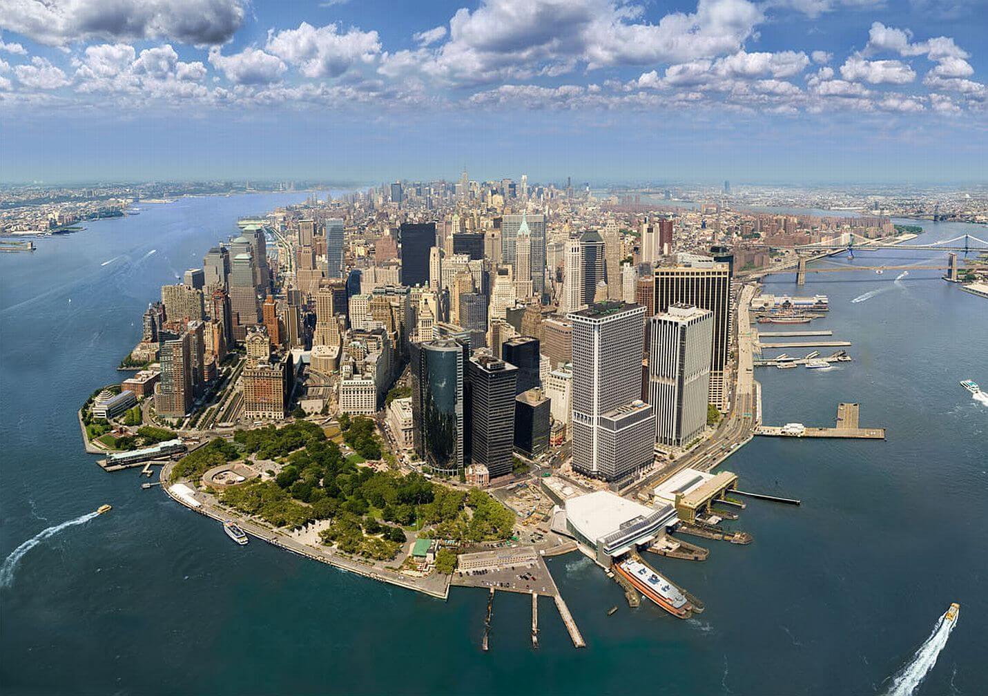 Map Of Lower Manhattan Ny
