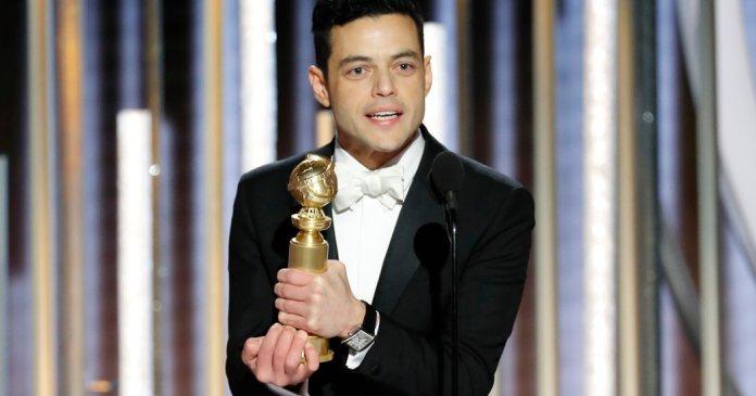 Bohemian Rhapsody - Rami Malek - Golden Globes