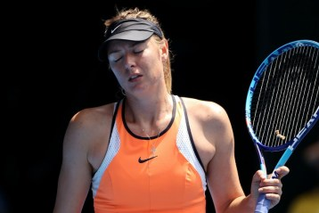 controversy of Maria Sharapova
