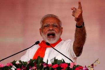 PM Modi evaluates Congress to termites