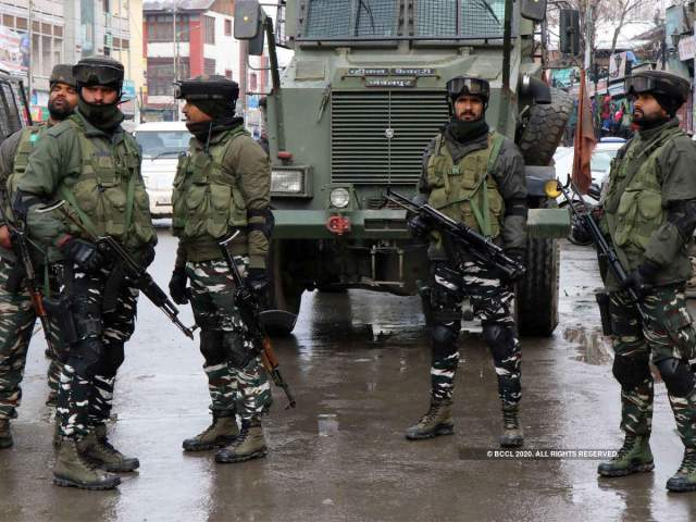 CRPF personnel got injured in IED blast in Pulwama, Jammu and Kashmir