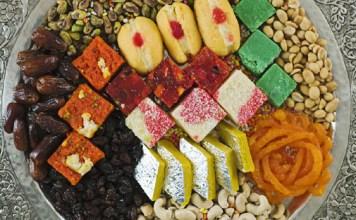 Lots of things eat on diwali