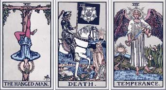 Death, Devil and the Hanged Man