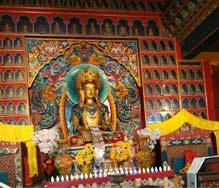 Monastery Inside View