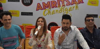 Chandigarh Amritsar Chandigarh cast & Radio Mirchi wooed the audience at VR Punjab