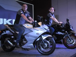 Suzuki Motorcycle India launched all new GIXXER SF 250 and GIXXER SF