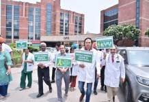 Fortis holds walkathon on Organ Donation