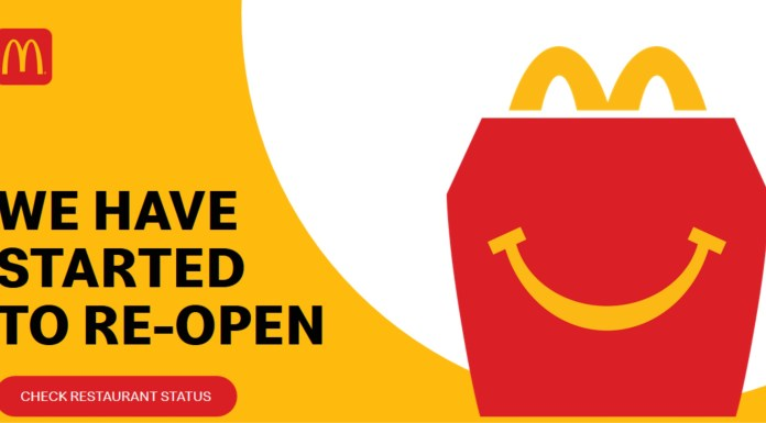 McDonald's Restaurants in Punjab Have Started Re-Opening