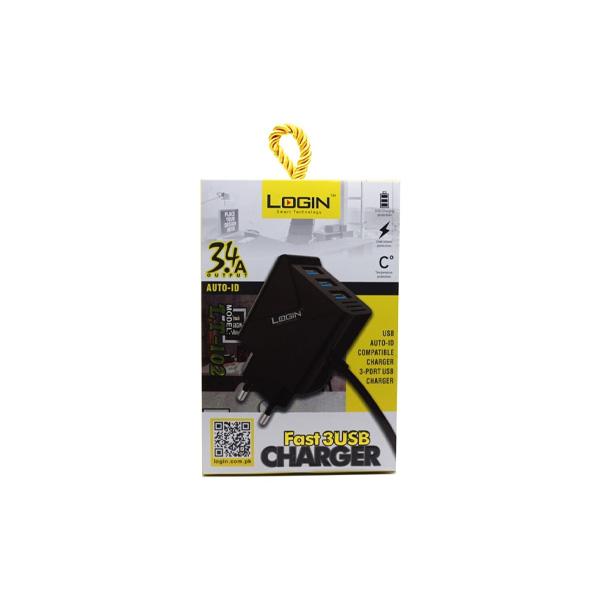 Login Smart Technology Charger CH 102