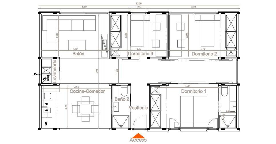Construcción casa industrializada nexhabitat