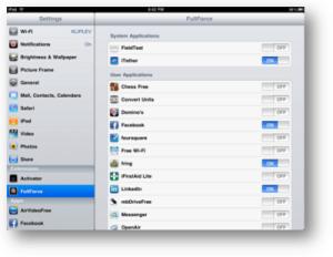 Fullforce for iPad screenshot