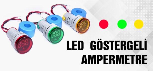 Led Göstergeli Ampermetre