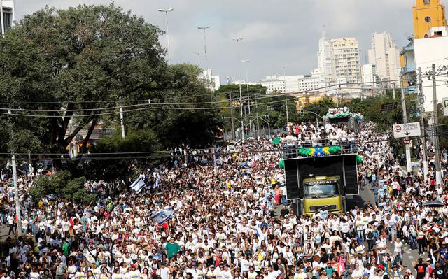 Marcha Jesus - UM DIA APÓS MARCHA PARA JESUS: Qual a força de grupos evangélicos no Brasil de 2019? - João Paulo Charleaux