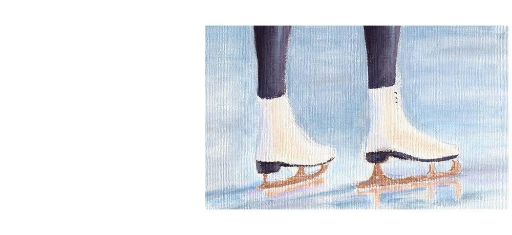 La bota y los patines