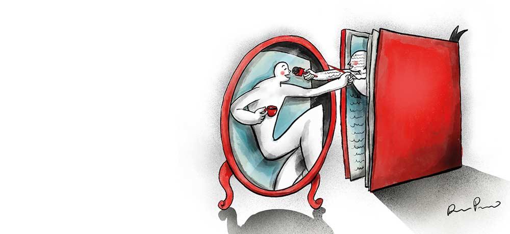 Entrevista y espejo