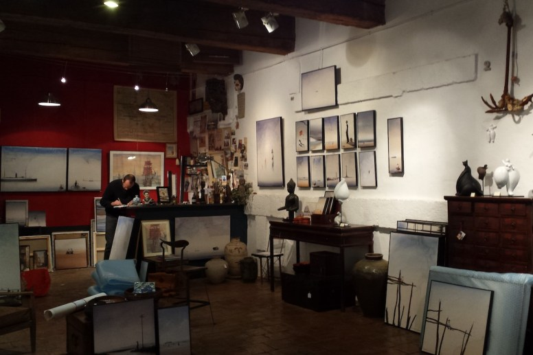 Atelier de peintre