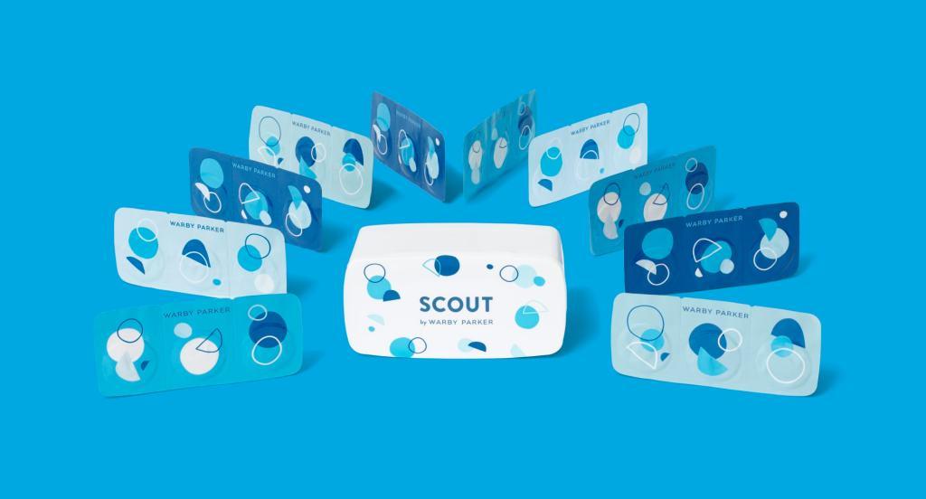 Warby Parker представляет новый бренд контактных линз Scout
