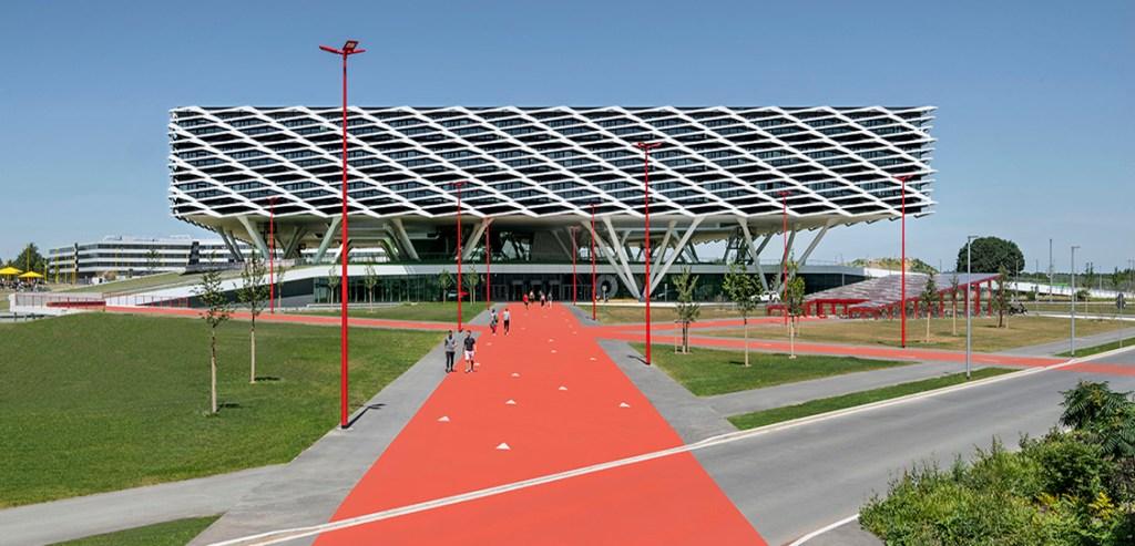 Кампус Adidas World of Sports дополнился уникальной Adidas Arena