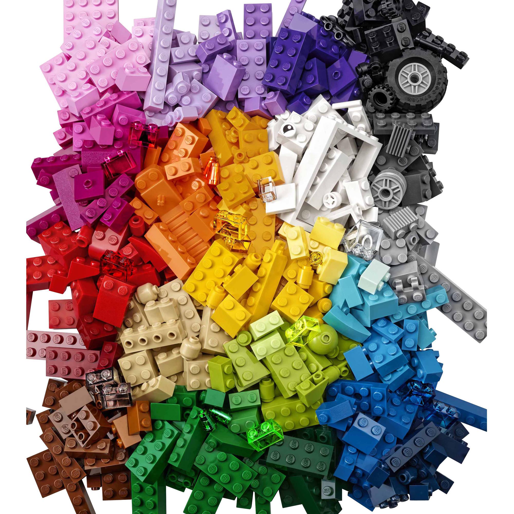 rainbow lego