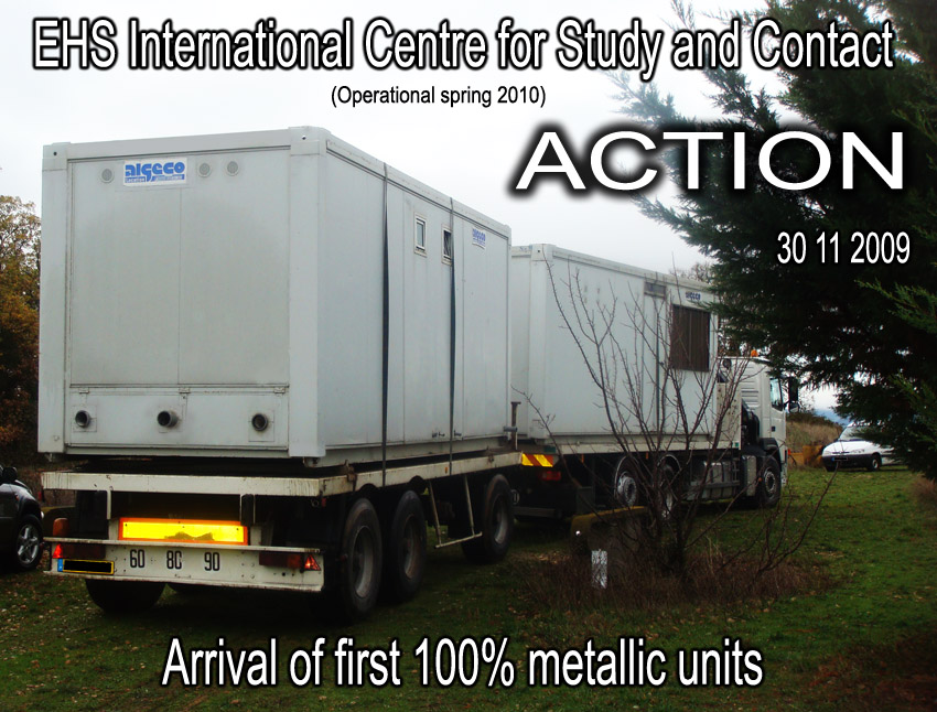 EHS_International_Centre_for_Study_and_Contact_arrival_metallic_units_30_11_2009_11_France