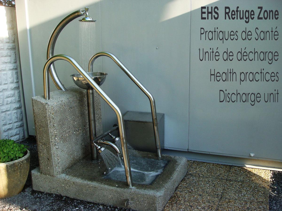 EHS_Refuge_Zone_Unite_de_Decharge_Discharge_Unit_France