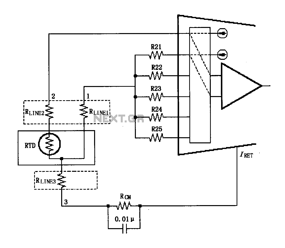 Gt Other Circuits Gt Xtr108 Circuit Diagram Of A Three Wire