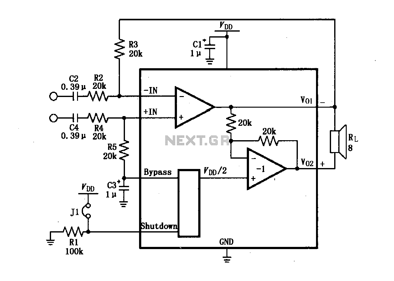 Audio Amplifier Circuit Page 7 Audio Circuits Next