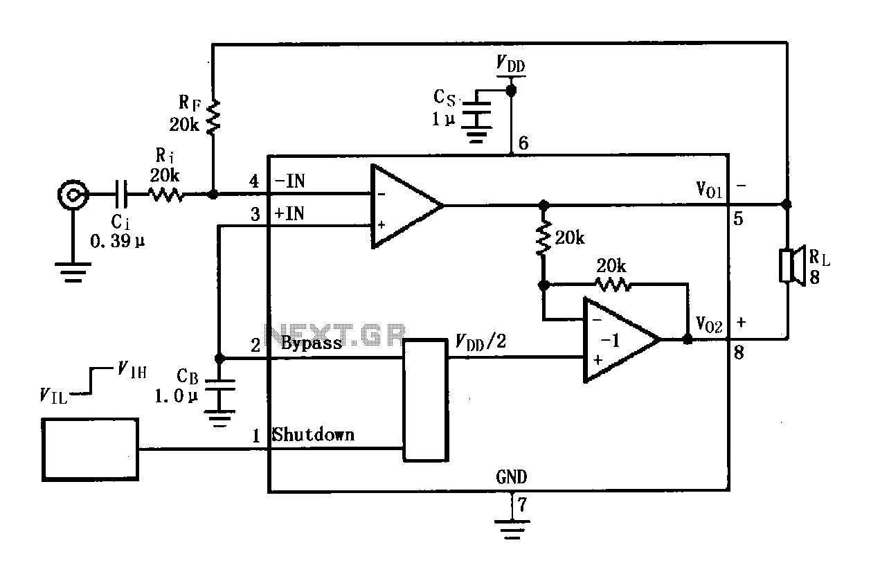 Audio Amplifier Circuit Page 4 Audio Circuits Next