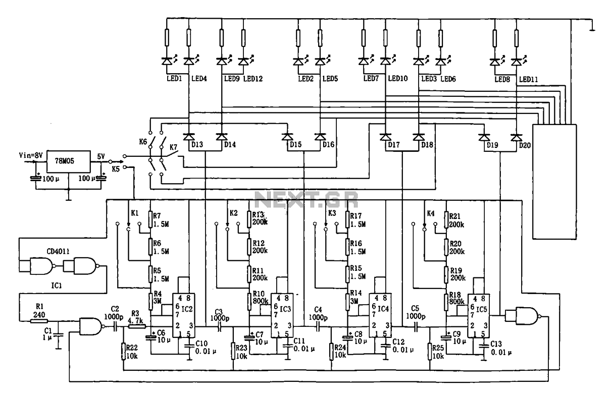 Audio Tone Balance Circuit Page 4 Audio Circuits Next