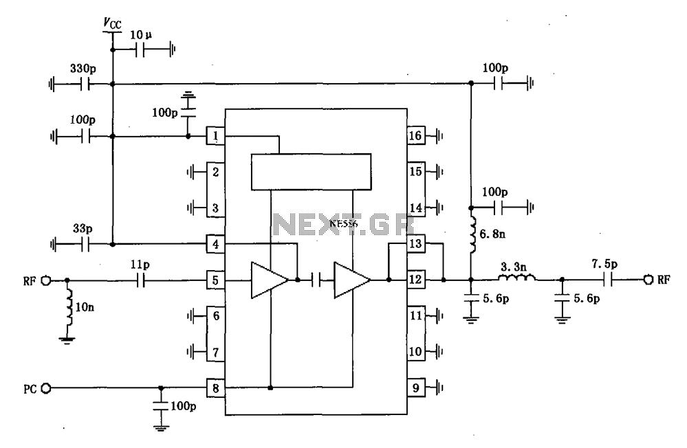 Rf Amplifier Circuit Page 4 Rf Circuits Next