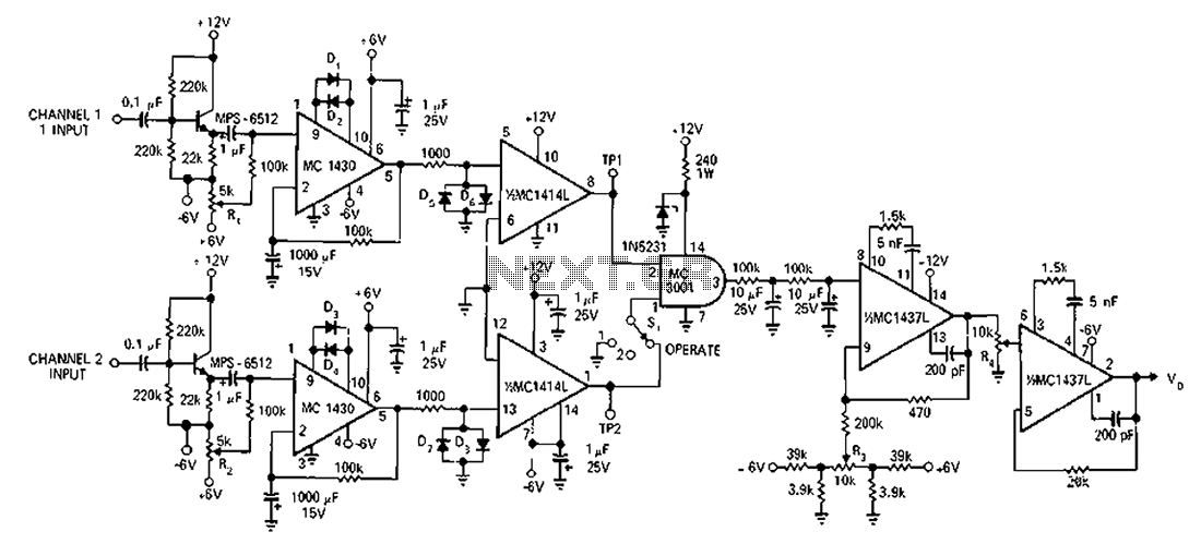 1 Mhz Counter Frequency Schematic Circuit