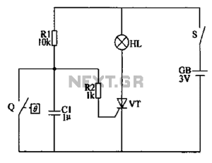 Automatic antifrost crop controller circuit diagram under
