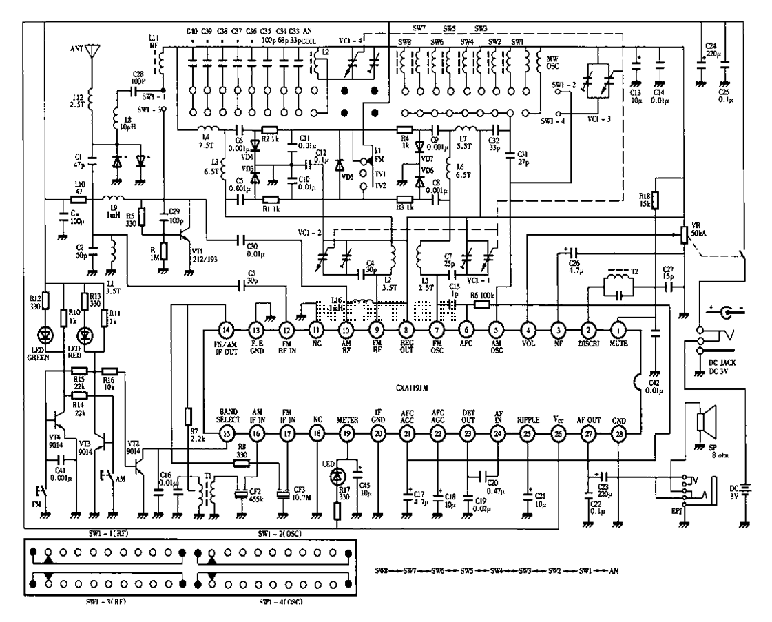 Power Supply Block Diagram And Function