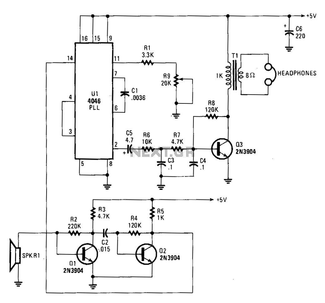 Ultrasonic Receiver Under Ultrasonic Circuits