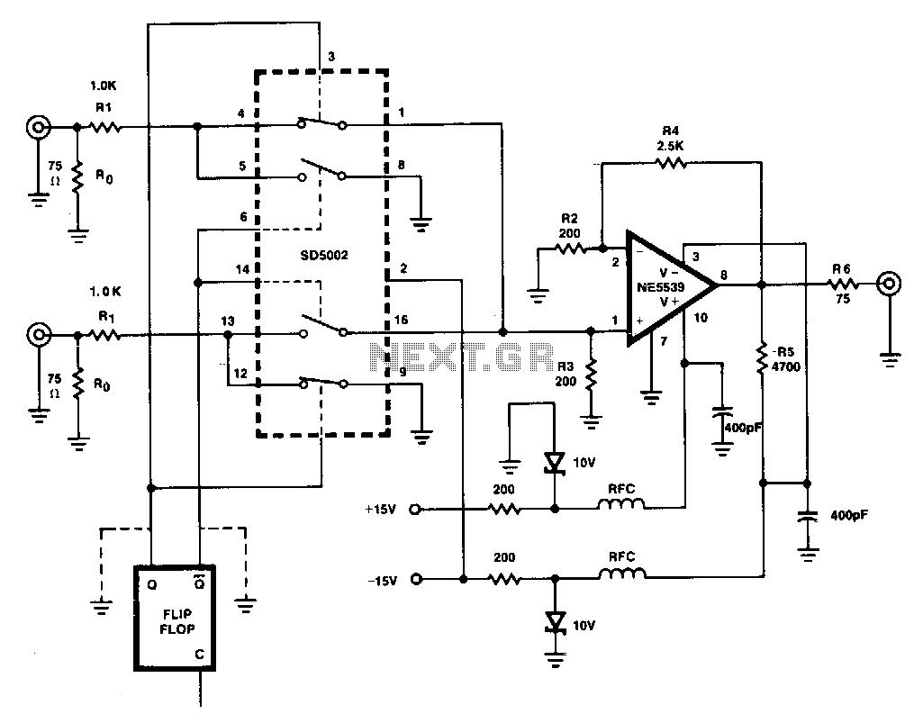 Tv Video Circuit Video Circuits Next