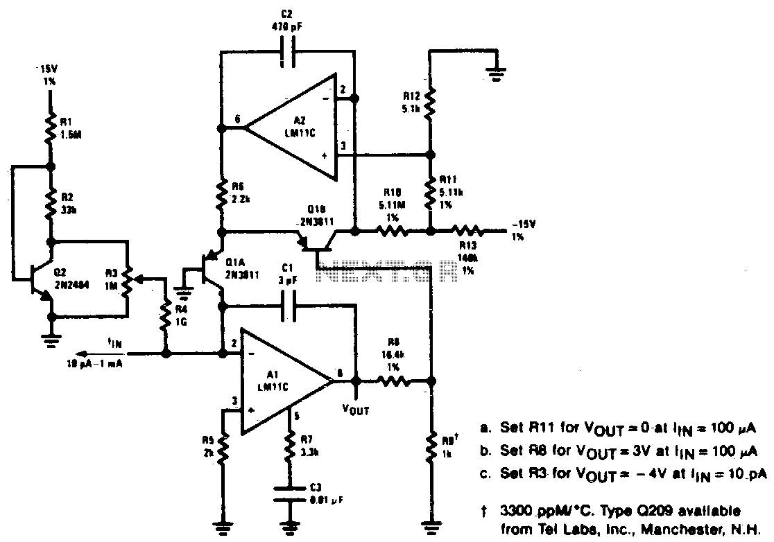 Logarithmic Amplifier Under Audio Amplifier Circuits