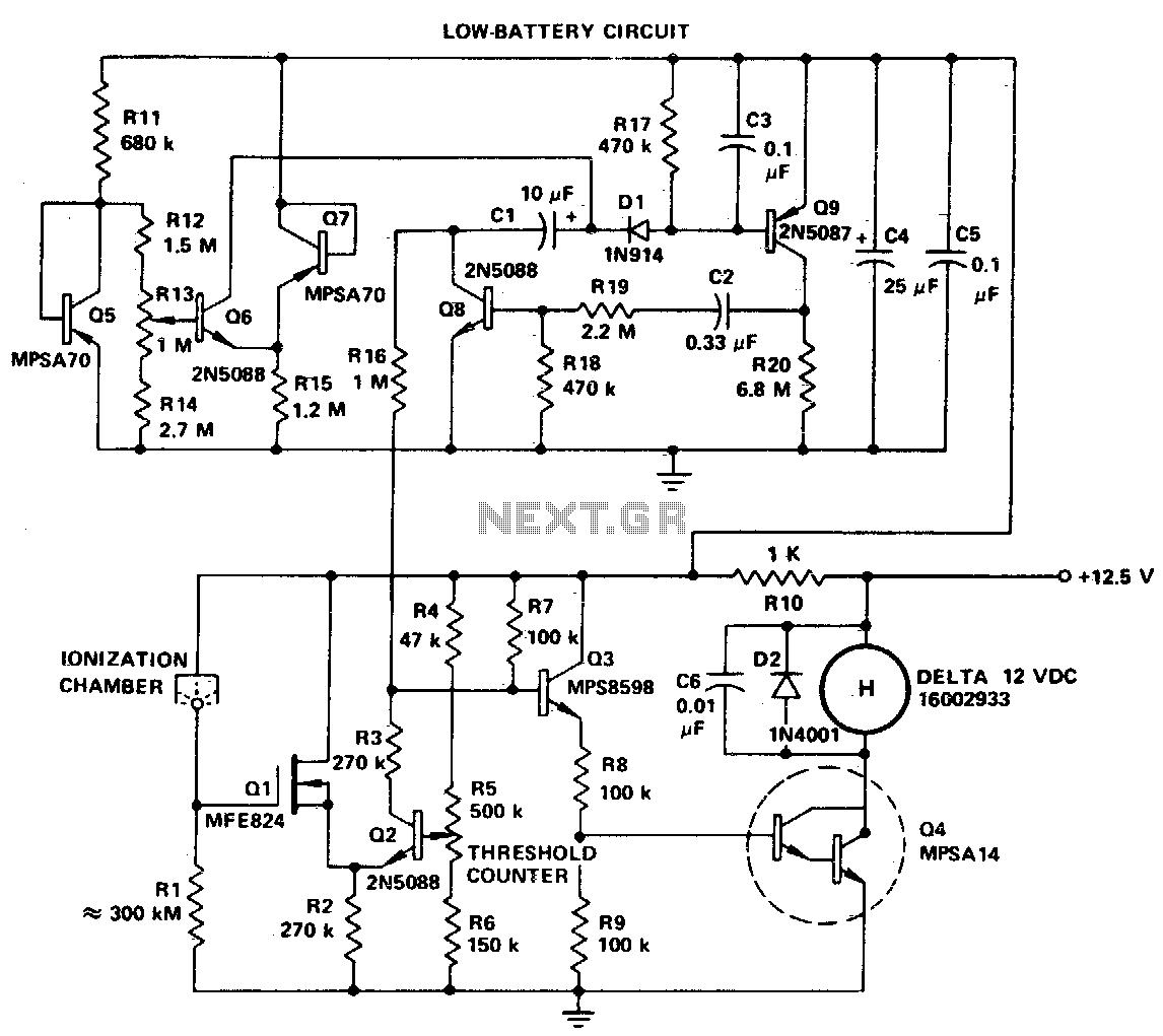 Gas Sensor Circuit Sensors Detectors Circuits Next