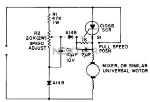 motor control circuit : Automation Circuits :: Nextgr