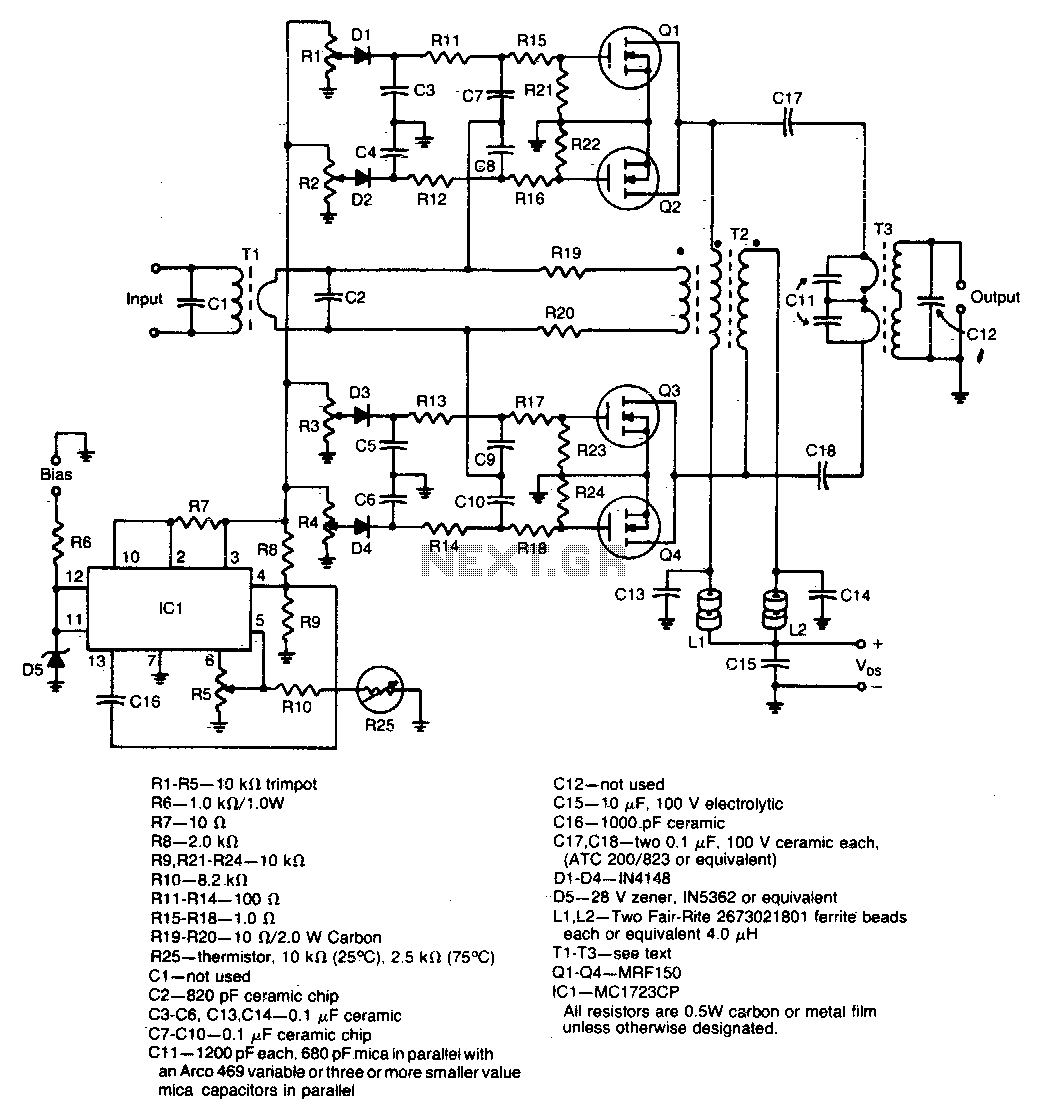 Rf Amplifier Circuit Rf Circuits Next