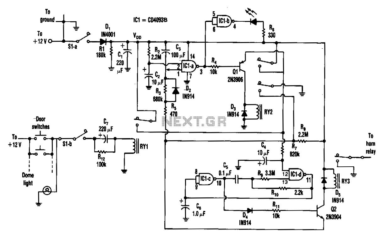 Schematic Diagram Of Xm