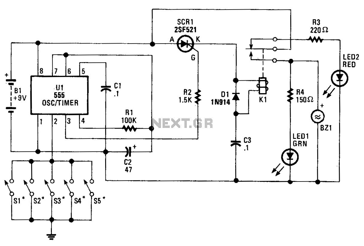 Alarm Circuit Security Circuits Next